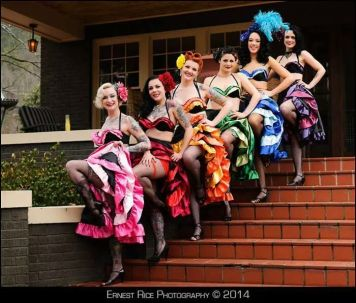 The ladies of Foul Play Cabaret